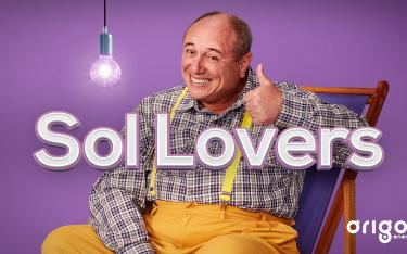 Imagem com botão de play para iniciar o vídeo de Sol Lovers